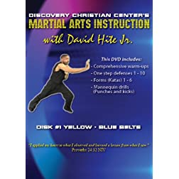Martial Arts Instruction with David Hite Jr. - Yellow/Blue Belts