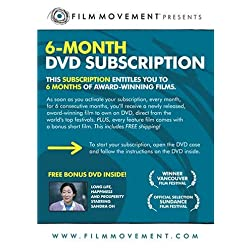 6-Month Film Movement DVD Subscription (bonus film: Long Life, Happiness and Prosperity)