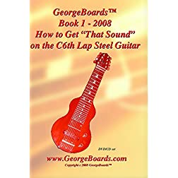 Lap Steel Guitar Instructional DVD GeorgeBoards Book 1 - Getting Started