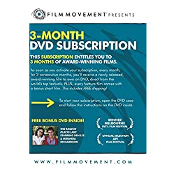 3-Month Film Movement DVD Subscription (bonus film: The Rage in Placid Lake)