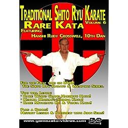Traditional Shito Ryu Karate Volume 6 - Rare Kata