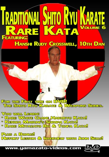 Traditional Shito Ryu Karate Volume 6 - Rare Kata