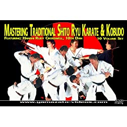 Mastering Traditional Shito Ryu Karate & Kobudo 10 Volume Set