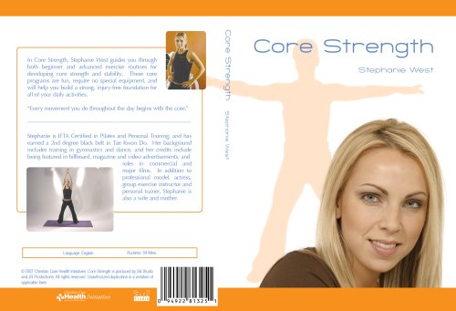 Core Strength - Stephanie West