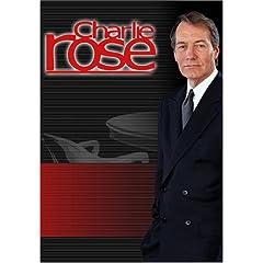 Charlie Rose - Rove Resignation/Markos Moulitsas/Anthony Cordesman  (August 13, 2007)