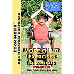 Zookinesis: More Chair Exercises for Seniors