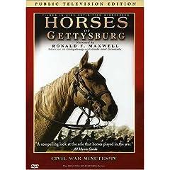 Horses of Gettysburg - CIVIL WAR MINUTES IV Public Television Edition DVD