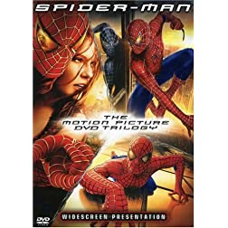 Spider-Man - The Motion Picture DVD Trilogy (Spider-Man / Spider-Man 2 / Spider-Man 3)