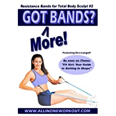 Got More Bands? Resistance Bands for body sculpt #2