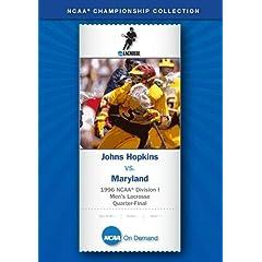 1996 NCAA Division I Men's Lacrosse Quarter-Final - Johns Hopkins vs. Maryland