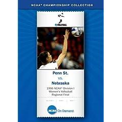 1996 NCAA Division I Women's Volleyball Regional Final - Penn St. vs. Nebraska