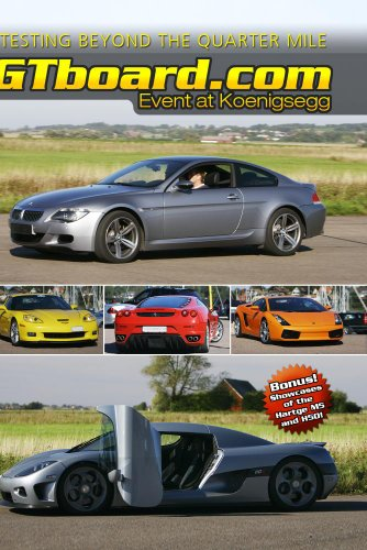gtboard.com: Event at Koenigsegg, DVD NTSC-version
