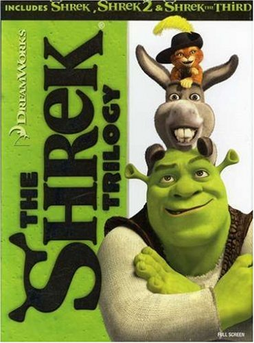 The Shrek Trilogy (Shrek / Shrek 2 / Shrek the Third) (Full Screen Edition)