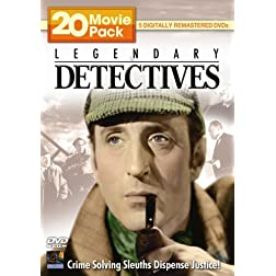 Legendary Detectives 20 Movie Pack