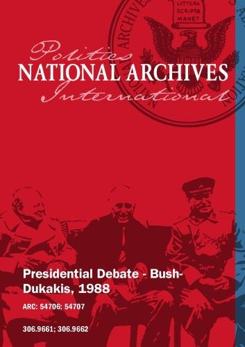 Presidential Debate - Bush-Dukakis, 1988 (2-Disc Set)