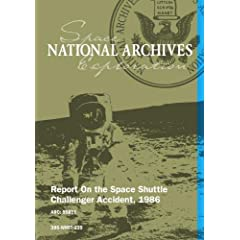 REPORT ON THE SPACE SHUTTLE CHALLENGER ACCIDENT, 1986