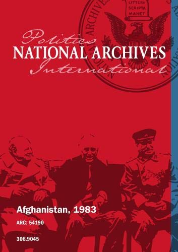 AFGHANISTAN, 1983