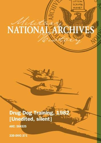 Drug Dog Training, 1982
