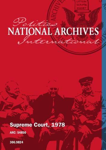 SUPREME COURT, 1978