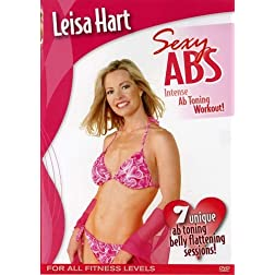 Leisa Hart: Sexy Abs Waist Trimming Workout