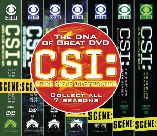 C.S.I. Crime Scene Investigation - Seasons 1-7