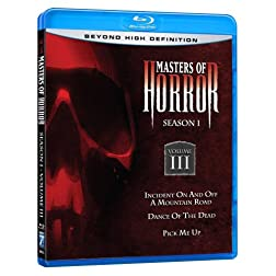 Masters of Horror: Season 1, Vol. 3 [Blu-ray]