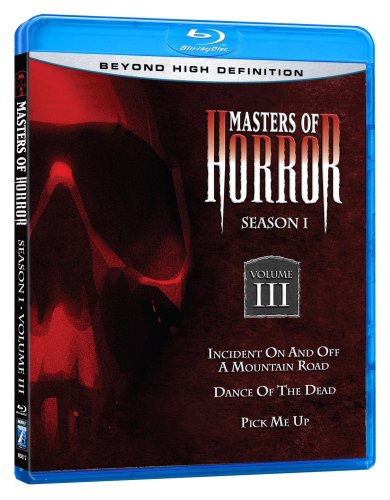 Masters of Horror: Season 1, Vol. 3 [Blu-ray]