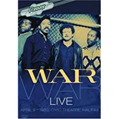 War: Live at the Civic Theater, Halifax 1980