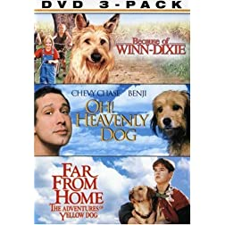 A Dog's Life 3 Pack (Because of Winn-Dixie / Oh! Heavenly Dog / Far From Home)