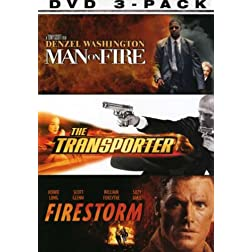 Lethal 3-Pack (Man on Fire / The Transporter / Fire Storm)