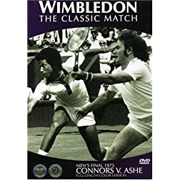 Wimbledon 1975 Final: Ashe vs. Connors
