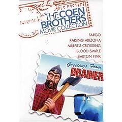 Coen Brothers Gift Set (Fargo / Miller's Crossing / Barton Fink / Raising Arizona / Blood Simple)