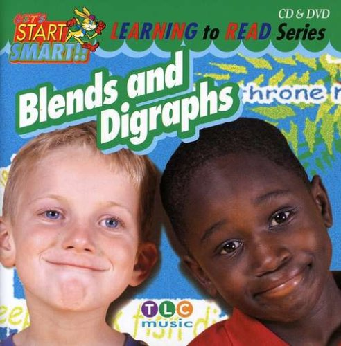 Let's Start Smart Learning To Read- Blends And Digraphs