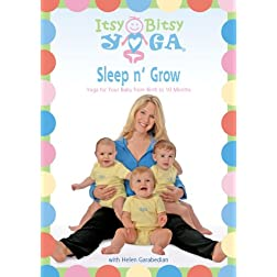 Itsy Bitsy Yoga's Sleep n' Grow DVD: Yoga for Your Baby from Birth to 10 Months with Helen Garabedian