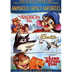 Animated Family Favorites 3-Movie Collection