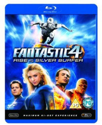 Fantastic Four 2-Rise of the Silver Surfer [Blu-ray]