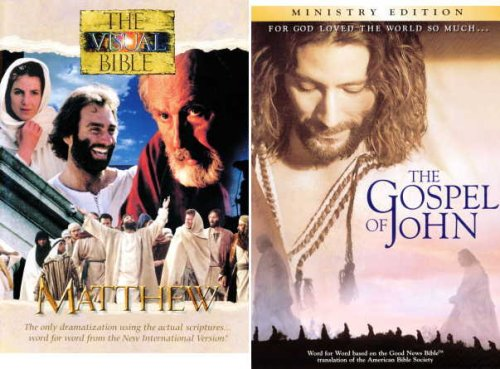 Visual Bible: John & Matthew 4-Disc Set