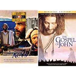 Visual Bible: Acts & John 4-Disc Set