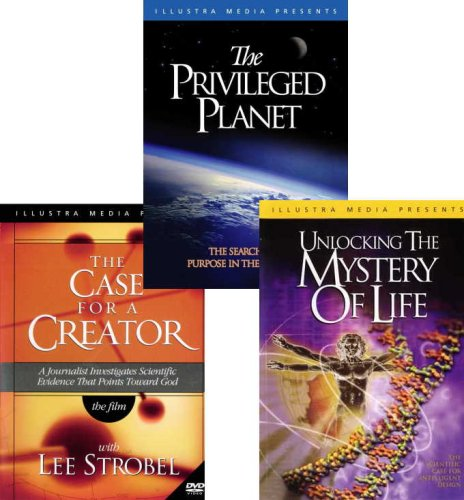 Privileged Planet / Unlocking the Myster of Life / Case for a Creator 3-DVD Set