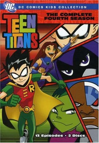 Teen Titans - The Complete First Four Seasons (DC Comics Kids Collection)