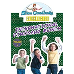 Slim Goodbody Deskercises: International Dinosaur