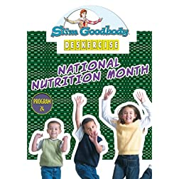 Slim Goodbody Deskercises: National Nutrition