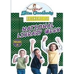 Slim Goodbody Deskercises: National Library Week