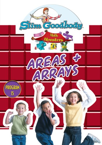 Slim Goodbody Math Monsters: Areas & Arrays
