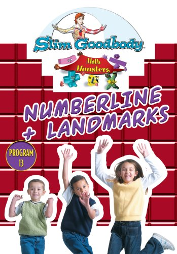 Slim Goodbody Math Monsters: Numberline & Landmark
