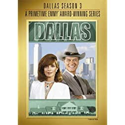 Dallas: Complete Third Season (Emmy Tip-On) (5pc)