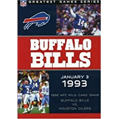 NFL Game Archives: Buffalo Bills vs. Houston Oilers 1993 AFC Playoffs