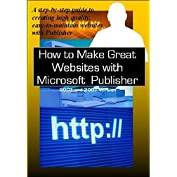 How to Make Great Websites with MS Publisher