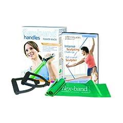 Stott Pilates Flex-Band With Handles Power Pack