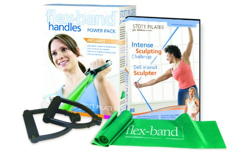 Stott Pilates Flex-Band With Handles Power Pack